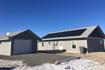 energy efficient home in alaska