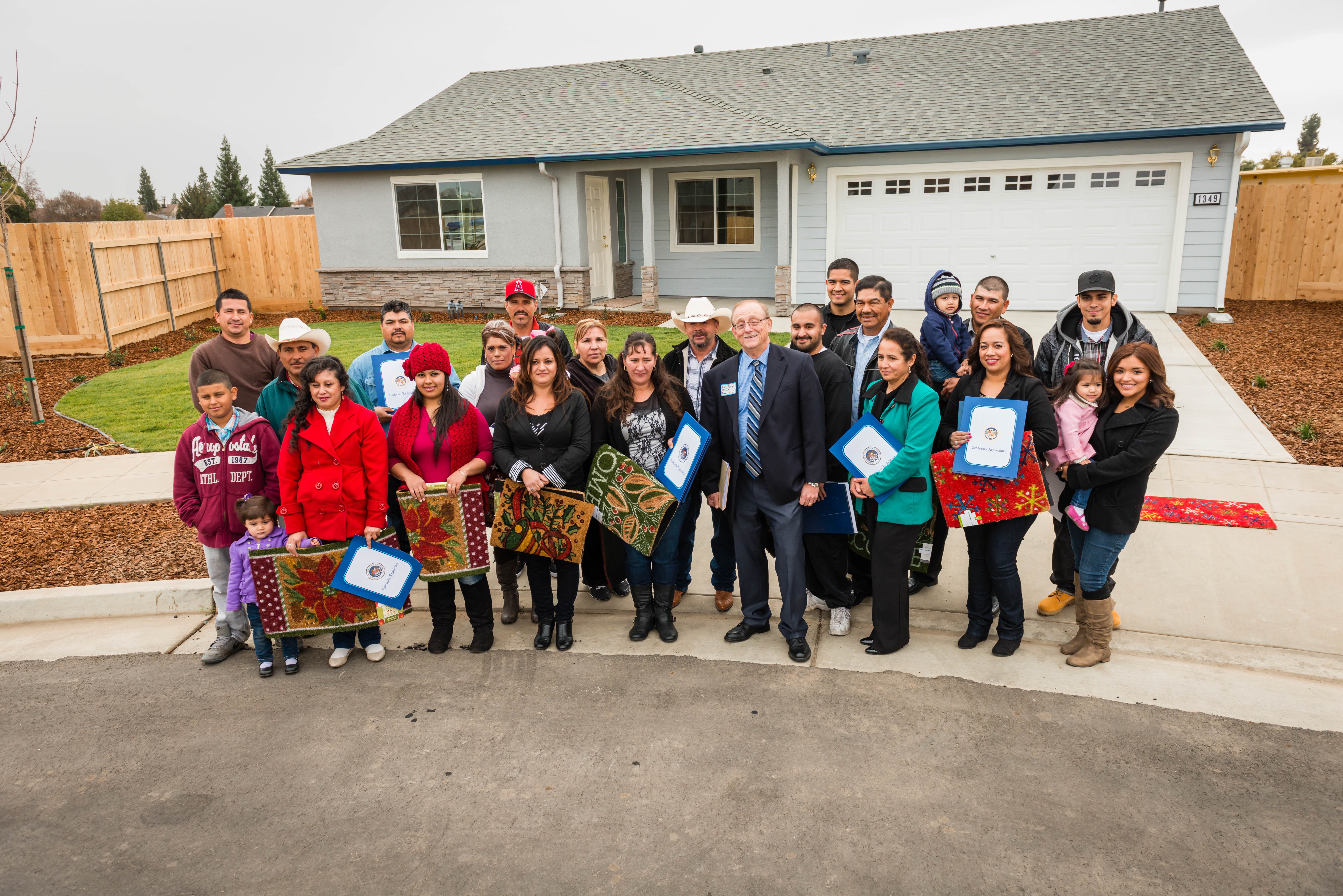 Self-Help Enterprises Helps 11 Families Build Homes for the Holidays